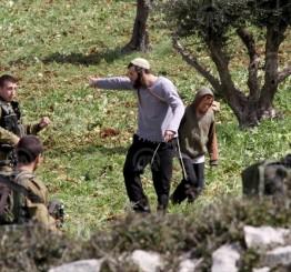 Palestine: Israeli settlers attack farmers in Qasra