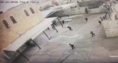 Palestine: Israeli forces raid Palestinian school in Hebron, injure students