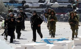 Palestine: Palestinian protestors injured by Israeli forces