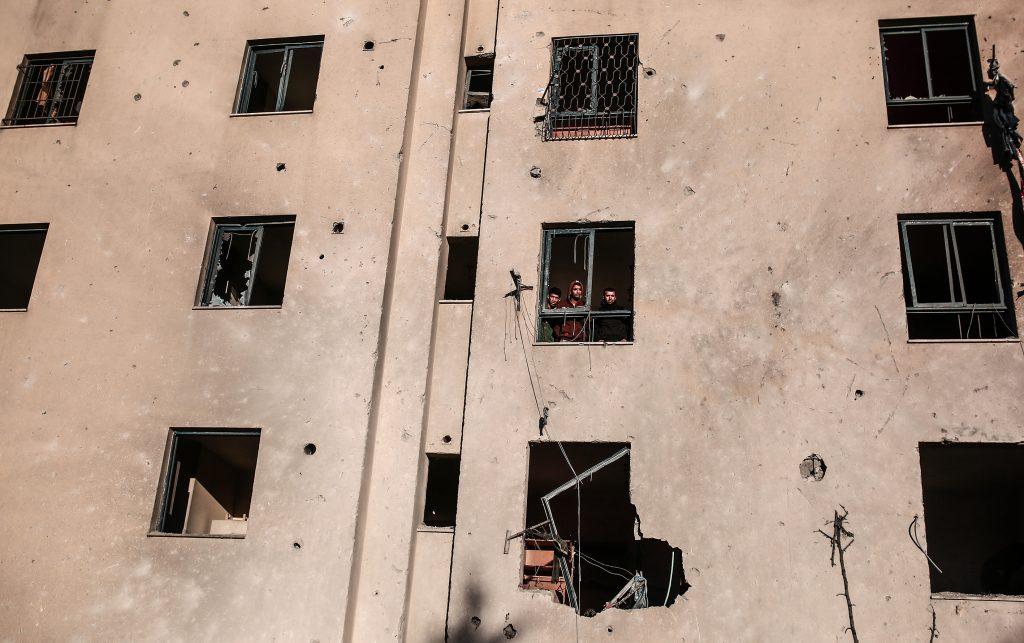 Gaza rocket hits Israeli town: army