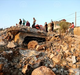 Palestine: Israeli soldiers demolish Bedouin settlement in E Jerusalem rendering 94 homeless