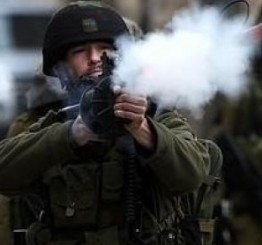 Palestine: Many injured effects of tear gas inhalation