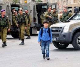 Palestine: Israeli soldiers attack Burin School, suffocate students