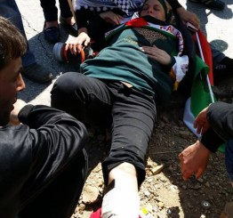 Palestine: Israeli soldiers attack Bilin, Nabi Saleh peace protests