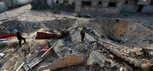 Palestine: Israeli targets civilian properties leaving them in ruins in Gaza