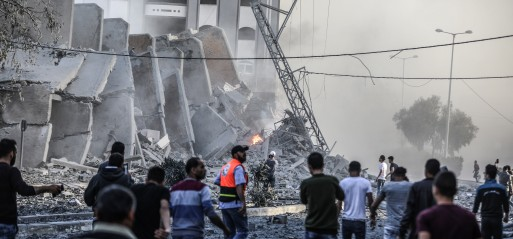Palestine: Israel strikes 320 sites in Gaza killing 25 Palestinians