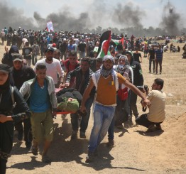 41 Palestinians killed by Israeli gunfire in Gaza as US & Israel celebrate US Embassy opening in Jerusalem