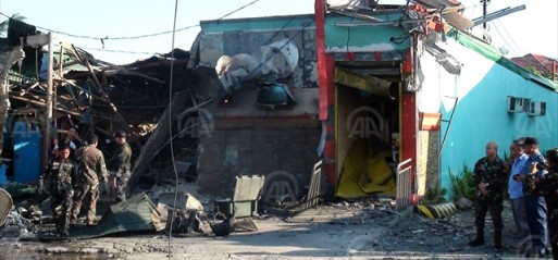 Philippines: Bomb blast injures 3 in S Philippines
