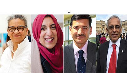 Turner Prize winner among 28 Muslims honoured