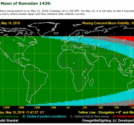 UK: Moon sighting for Ramadan