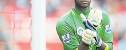 Reading goalkeeper subjected to Islamophobic chants
