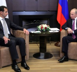Russian President hosts Syria's Assad in Sochi