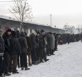 Europe: Refugees facing harsh winter conditions, warns UN