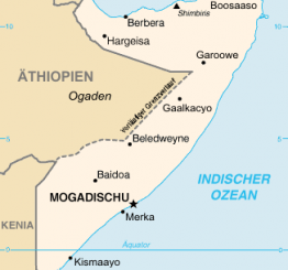 Somalia: 5 killed, 25 wounded in suicide blast in Mogadishu