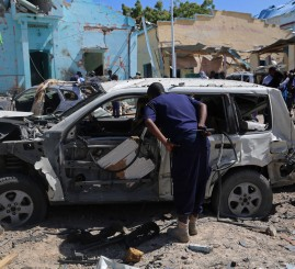 Somalia: 5 killed in suicide car bomb attack