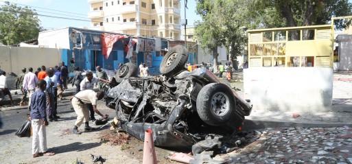 Somalia: Car bomb blast in Mogadishu restaurant kills 7
