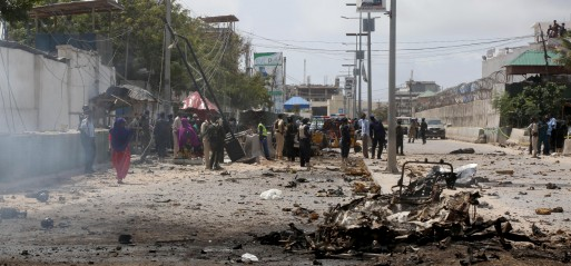 Somalia: 10 killed in suicide attack in Mogadishu