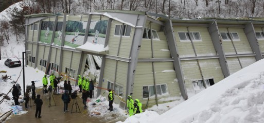 South Korea: Ten killed in resort building collapse in Gyeongju