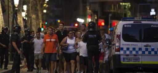 Spain: 13 killed, over 100 injured, in Barcelona terrorist attack
