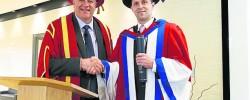 Srebrenica genocide survivor receives honorary doctorate