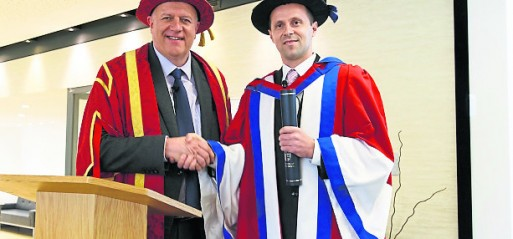Srebrenica genocide survivor receives honorary doctorate