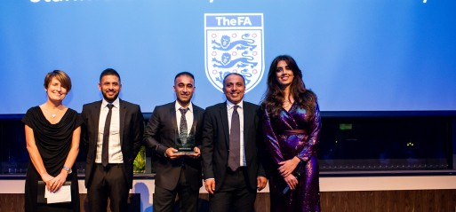 Stanmore Jafferys Football Academy wins FA supported award
