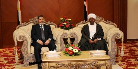 Sudan, Egypt deny differences over borders, vow to enhance cooperation