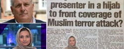 Sun columnist slammed for arguing Hijab wearing anchorwoman should not report terror attacks