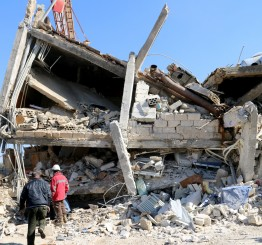 Syria: Russian warplanes hit two hospitals, killing 14