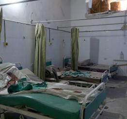 Syria: Syrian Govt bombs destroy Aleppo's largest hospital