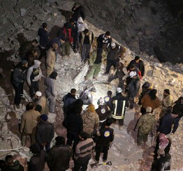 Syria:  US accused of air attack killing 58 civilians in Aleppo mosque