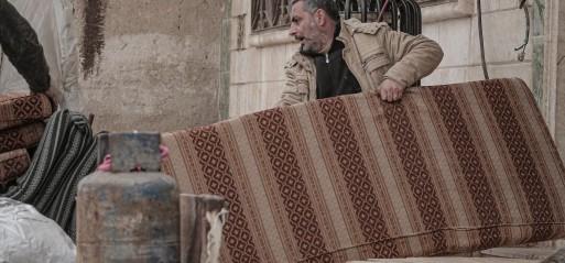 Northwest Syria exodus tops 800,000