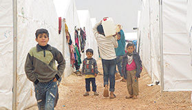Syria: Six million displaced, 100,000 killed