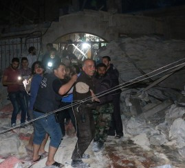 Syria: Russian warplanes attack field hospital, 30 dead