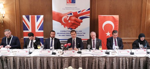 Turkish minister concerned rise of Islamophobia in UK & Europe