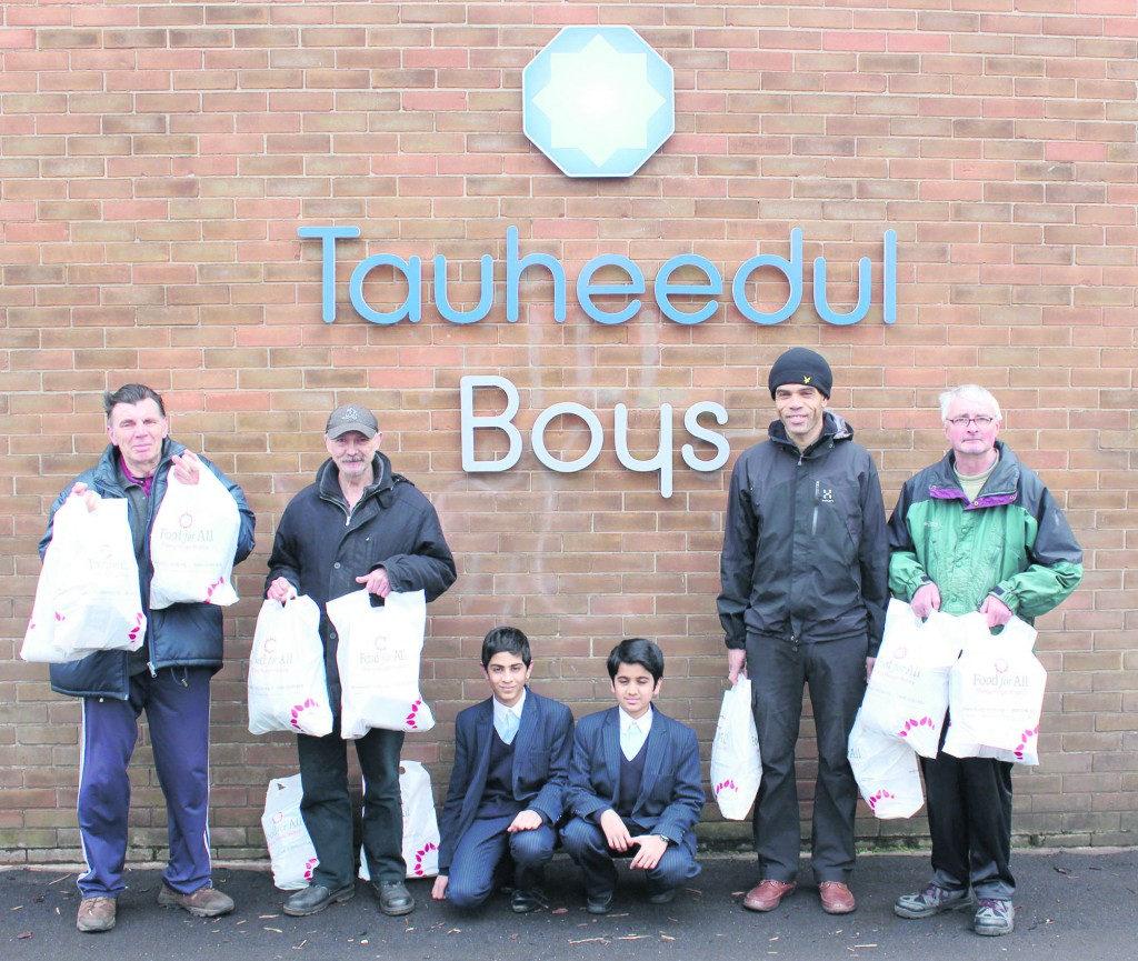 Tauheedul Boys School's runs foodbank