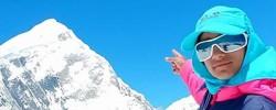 Ten-year-old mountaineer breaks world record