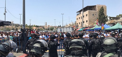 Palestinian protestors killed in occupied East Jerusalem
