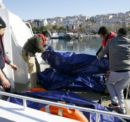 Turkey: Refugee boat sinks off Turkey's western coast, 20 dead