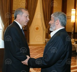 Turkey: Erdogan meets Hamas leader over Al-Aqsa clashes