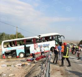 Turkey: 9 Syrians die as overcrowded minibus crashes