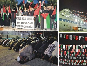 Turkish activists mark anniversary of Mavi Marmara raid