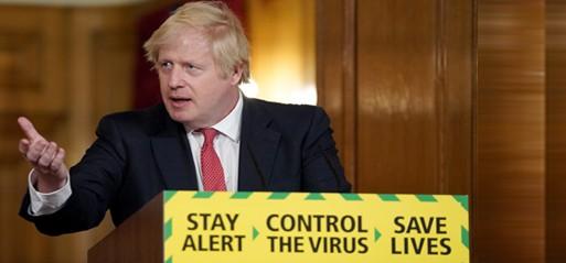 UK government releases 3-step Coronavirus recovery plan