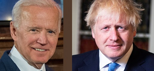 """UK: Johnson says """"deepening alliance"""" with US in call with Biden"""
