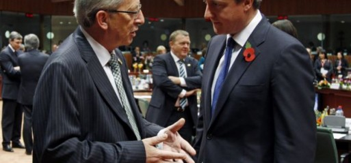 UK: Cameron congratulates Juncker on EU commission president nomination