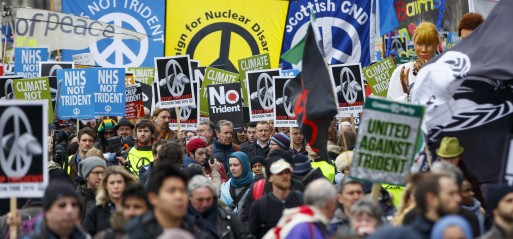 UK: Thousands join anti-nuclear rally
