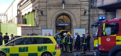 UK:  IED explosion in London underground train injured 18 people
