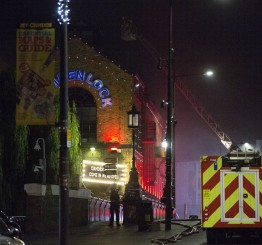 UK: Massive fire engulfs Camden Lock Market in north London