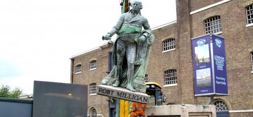 UK: Statue of slave trader Robert Milligan pulled down
