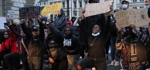 UK: Thousands protest in London for Black Lives Matter